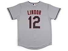 Youth Cleveland Indian Official Player Jersey - Francisco Lindor