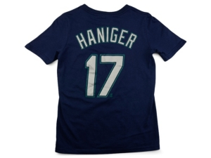 Nike Seattle Mariners Youth Name and Number Player T-Shirt Mitch Haniger