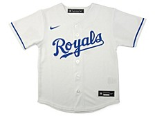 Youth Kansas City Royals Official Blank Jersey