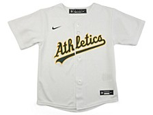 Youth Oakland Athletics Official Blank Jersey
