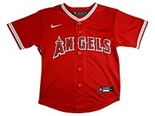 Toddler Los Angeles Angels Official Blank Jersey