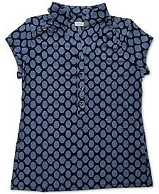 Iconic Abstract-Print Polo Shirt, Created for Macy's
