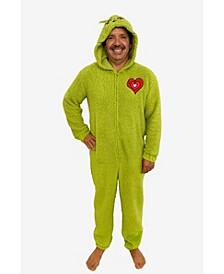 Grinch Men's Sherpa Union Suit