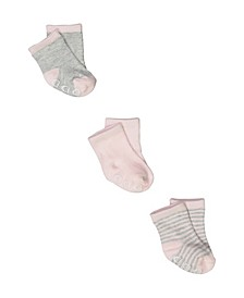 Baby Boys and Girls 3 Pack Baby Socks