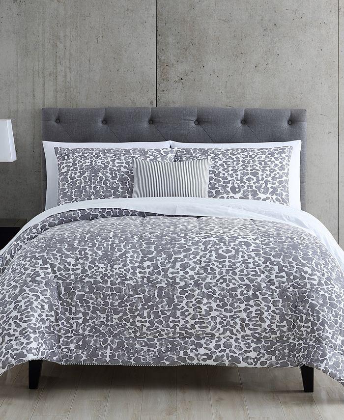 Hallmart Collectibles - Maxson 12-Pc. Reversible California King Comforter Set
