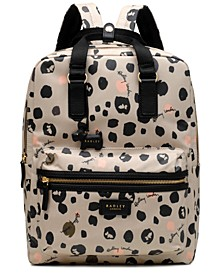 Bubble Dog Large Zip-Top Backpack