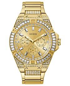 Men's Gold-Tone Stainless Steel Bracelet Watch 47mm