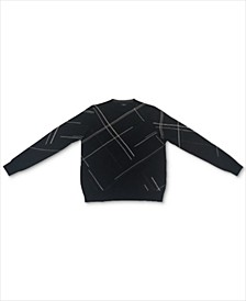 Men's Crosshatch Sweater, Created for Macy's