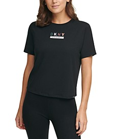 Sport Logo Cropped T-Shirt