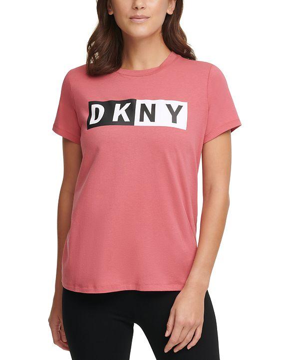 DKNY Sport Split-Logo T-Shirt