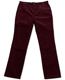 Men's Regular-Fit Corduory Pants, Created for Macy's