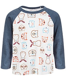 Baby Boys Woodland Heads Tee, Created for Macy's