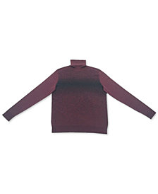 Alfani Men's Ombré Turtleneck Sweater, Created for Macy's