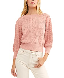Villa Cable Pullover Sweater