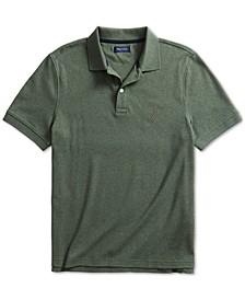 Men's Solid Cotton Interlock Polo