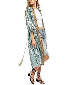 Light Is Coming Embellished Duster