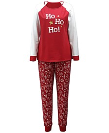 Matching Women's Ornament-Print Family Pajama Set, Created for Macy's