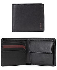Men's Subway Leather Cardholder with Coin Pocket