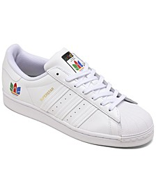 Women's Originals Superstar Pride Casual Sneakers from Finish Line