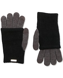 Layered-Look Tech Gloves