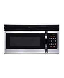 EM044KIN-P 1.6-Cu. Ft. Over-the-Range Microwave with Top Mount Air Recirculation Vent, Stainless Steel