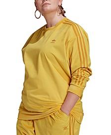 Originals Plus Size Corduroy Crewneck Pullover
