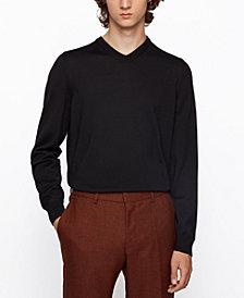 BOSS Men's Baram V-Neck Sweater
