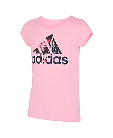 Big Girls Short Sleeve Side Vent T-shirt