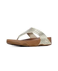 FitFlop Women's Lulu Weave Wedge Sandal