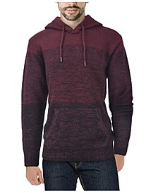 Men's Color Blocked Hooded Sweater