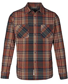 Men's Cotton Plaid Shirt