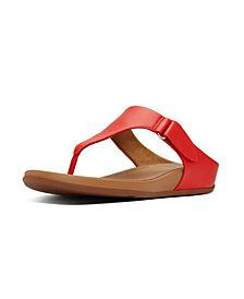 FitFlop Women's Vera Toe-Thong Wedge Sandal