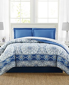 Katherine 8-Pc. Reversible Queen Comforter Set, Created for Macy's