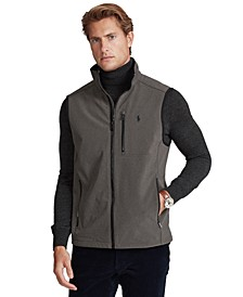 Men's Big & Tall Water-Repellent Softshell Vest