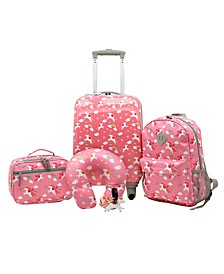 Traveler's Club Kid's 5PC Luggage Set
