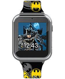 Accutime Kid's Batman Silicone Strap Touchscreen Smart Watch 46x41mm