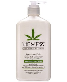 Sensitive Skin Herbal Body Moisturizer, 17-oz., from PUREBEAUTY Salon & Spa