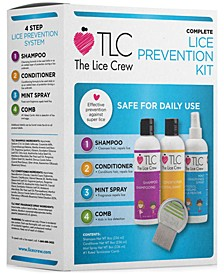 4-Pc. Head Lice Prevention Set, from PUREBEAUTY Salon & Spa