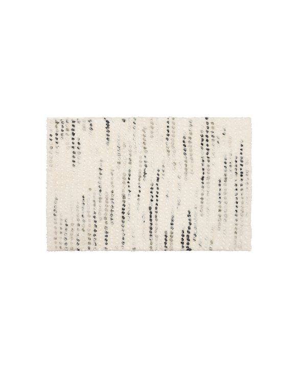 "Martha Stewart Collection Bubble 20"" x 30"" Bath Rug, Created for Macy's"