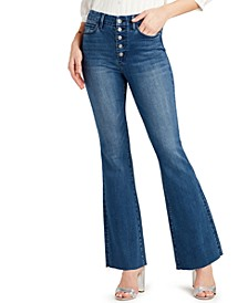 Stiletto High-Rise Flared Jeans