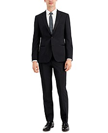 Men's Regular-Fit Black Tuxedo Pants & Jacket