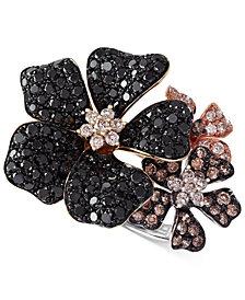 Confetti by EFFY Multicolor Diamond Flower Ring (2 ct. t.w.) in 14k Gold