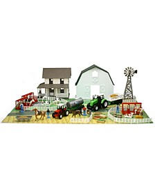 Country Life Farm Playset with Barn Farm House