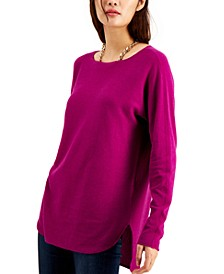 INC Shirttail Sweater, Created for Macy's