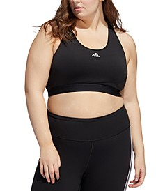 Plus Size Believe This Sports Bra