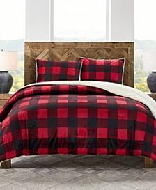 Buffalo Check 3Pc King Comforter Set