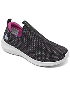 Big Girl's Stretch Flex - Standing Ovation Slip-on Sporty Casual Sneakers from Finish Line