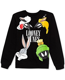 Juniors' Looney Tunes Sweatshirt