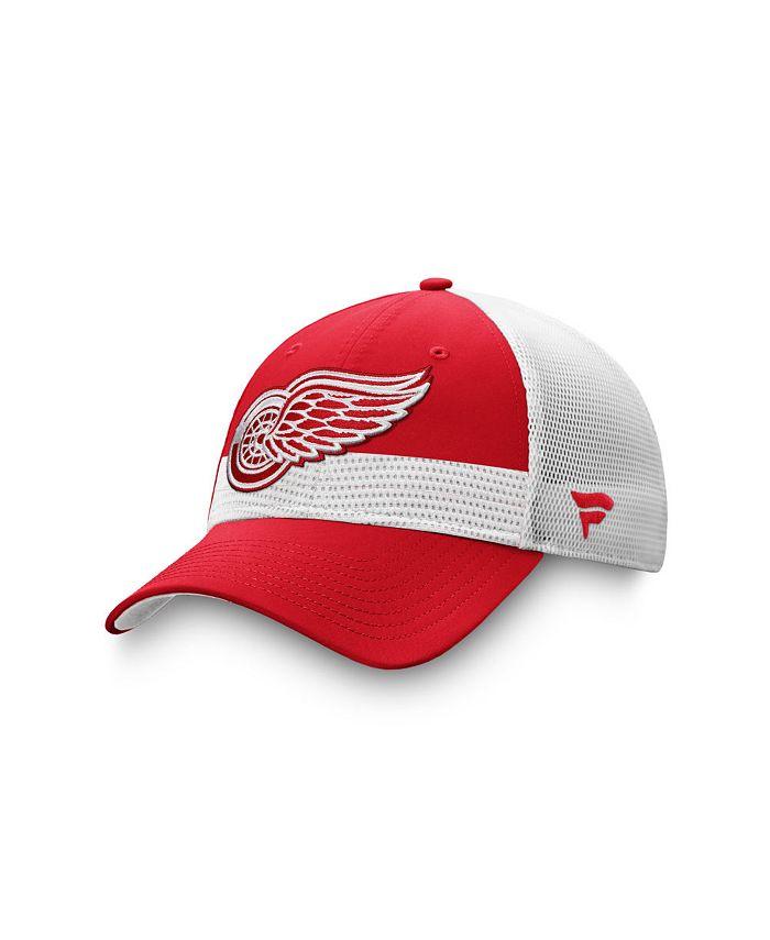 Authentic NHL Headwear - Detroit Red Wings 2020 Draft Trucker Cap