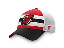 New Jersey Devils 2020 Draft Trucker Cap